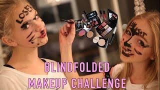 BLINDFOLDED MAKEUP CHALLENGE (FT. JORDYN JONES)