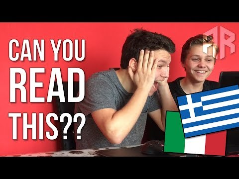 Xxx Mp4 Can You READ These Hard ITALIAN And GREEK TONGUE TWISTERS The Tongue Twister Challenge 3gp Sex