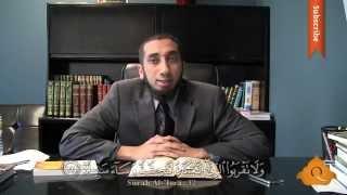 Cinsel Arzular - Nouman Ali Khan