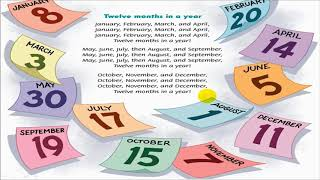 English song for kids - Twelve months in a year - Family and Friends 5 Special Edition