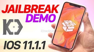 iOS 11.1.1 Jailbreak DEMO! iPhone X - iOS 11 (News ONLY)
