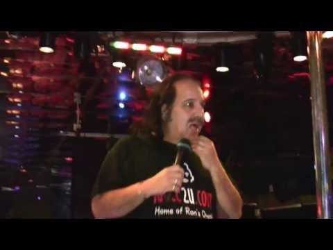 Ron Jeremy at Hustler Club San Francisco
