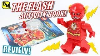 OH YEAH!! LEGO DC THE FLASH MINIFIGURE BOOK REVIEW!