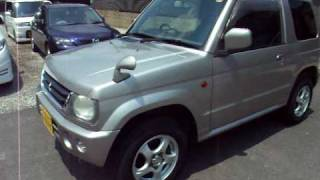 Mitsubishi Pajero mini K-Car 2000 year used car for sale Japan | stock car information