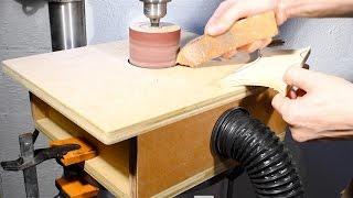 DIY Drum Sander for Drill Press