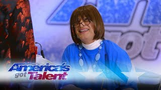 Howie Mandel Pranks People While Undercover As AGT PA - America's Got Talent 2017