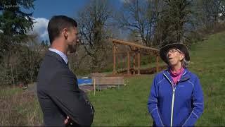 Eagle Scout builds observation deck for tree