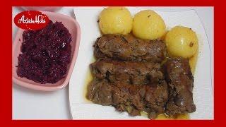 Biftek sarmasi - Rinderrouladen / Azide Hobi
