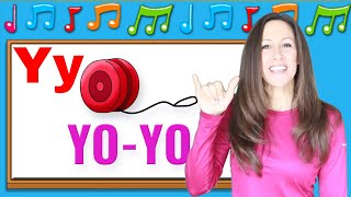 Phonics songs for children | Letter Sounds W, X, Y, Z | Signing for Babies, ASL | Patty Shukla
