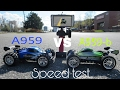 A959-b VS A959 speed test. Head 2 Head