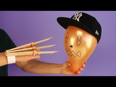 Xxx Mp4 DIY Logan X Men Wolverine Automatic Claws From 15 Popsicle Sticks 3gp Sex