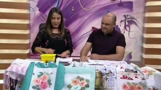 Mulher.com - 09/09/2016 - Pintura em tecido - Juari Souza P1