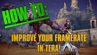 HOW TO: Improve frame-rate in TERA