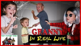 Granny Game In Real Life Basement Escape / That YouTub3 Family