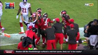 Tampa Bay Buccaneers 2015 Touchdowns