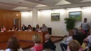 Acte de constitució del consistori de l'Ajuntament de Piera.