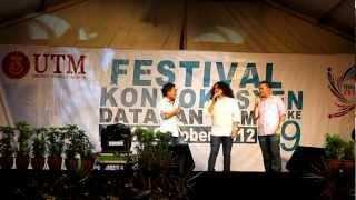 Johan Raja Lawak live in UTM (Fesko 49)
