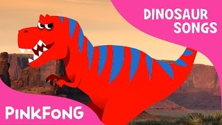 The Best Hunter, Tyrannosaurus | Dinosaur Songs | Pinkfong Songs for Children