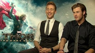 Thor: The Dark World star Tom Hiddleston: 'Thor and Loki love, hate and need each other'