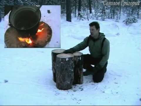 Как сделать печь в лесу видео - Mosstroyservice