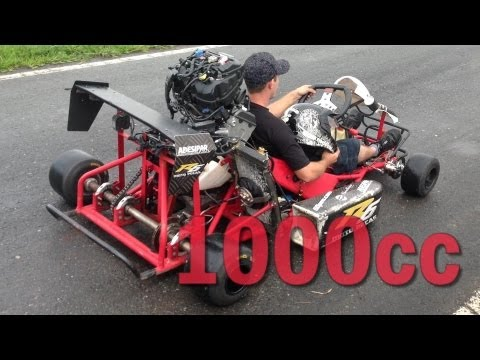 1000cc Kart LOUD ENGINE SOUND