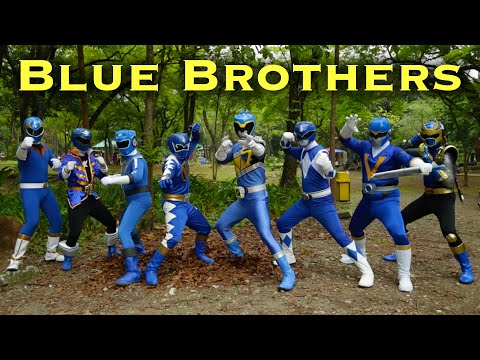 FOREVER SERIES The Blue Brothers Power Rangers