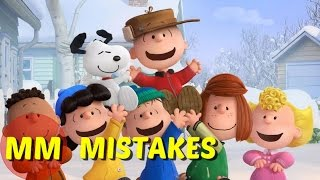 10 Peanuts Movie MISTAKES You Didn't See | The Peanuts Movie