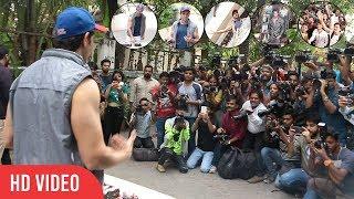 Hrithik Roshan Grand Birthday Celebration With Fans And Media   Hrithik