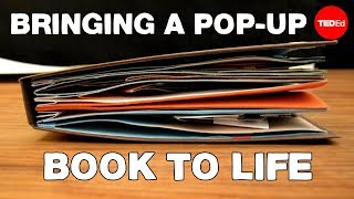 Making a TED-Ed Lesson: Bringing a pop-up book to life