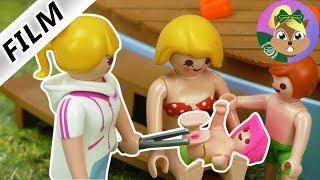 ايما تتعور و شكوة تدخل فى رجليها من البسين و حمام السباحة| سلسلة عائلة الطيور للاطفال