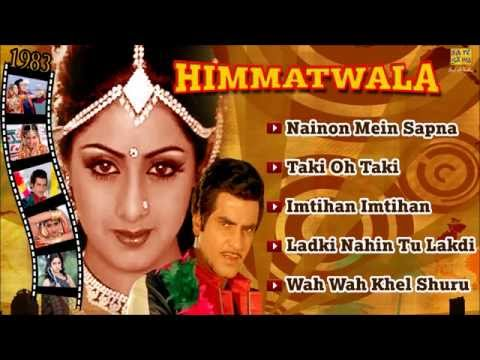 Himmatwala Juke Box - Full Songs - Jitendra & Sridevi