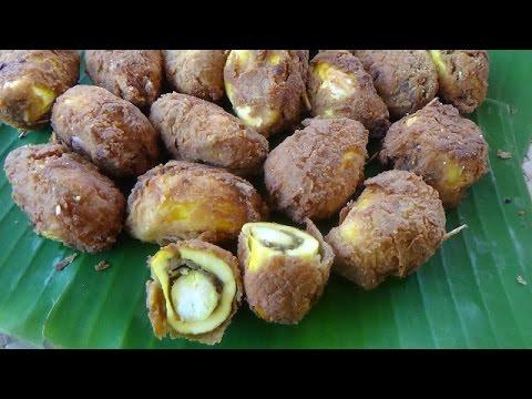 Village Food - Jackfruit Cutlets prepared in my village   Traditional Jackfruit Recipe