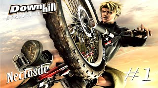 GAMEPLAY PS2 DOWNHILL DOMINATION PARTE 1   NECTOSDE