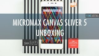 Micromax Canvas Sliver 5 Unboxing