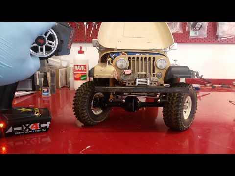 Test  XVD  RC4WD for axle Yota ll
