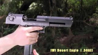 グアム実弾射撃2012 ワールドガン 拳銃編 Guam World Gun Handgun Shooting