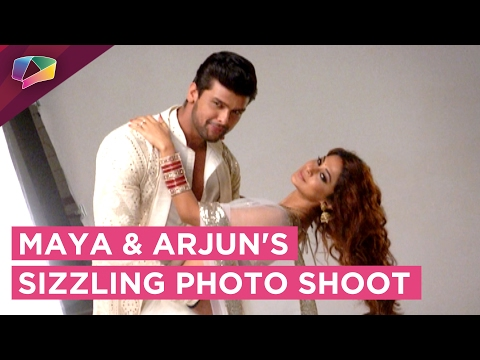 Xxx Mp4 Maya And Arjun Do A Sizzling Post Wedding Photo Shoot Beyhadh SONY TV 3gp Sex