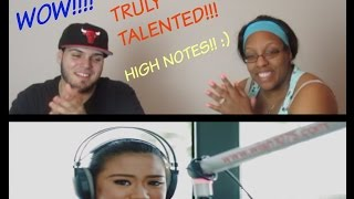 MORISSETTE COVERS AGAINST ALL ODDS (MARIAH CAREY) REACTION!!!
