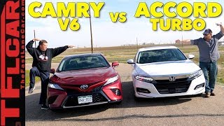 Best Seller Battle! 2018 Honda Accord vs Toyota Camry Expert Buyer's Guide