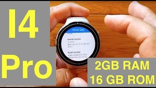 IQI I4 Pro 2GBRAM/16GBROM Smartwatch: Unbox, Review & Firmware!