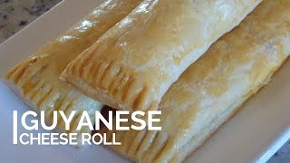 Guyanese Cheese Roll: step by step