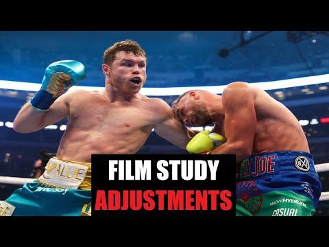 Canelo Alvarez vs Billy Joe Saunders Film Study ADJUSTMENTS