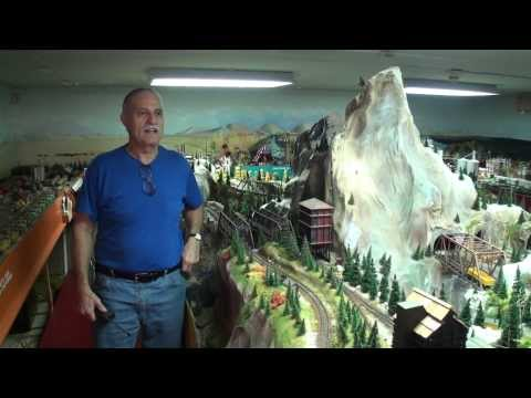 Greatest Private Model Railroad H.O. Train Layout Ever John Muccianti works 30 years on HO layout