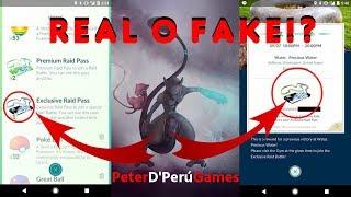 LLEGARON LOS PASES DE INCURCION EX REAL O FAKE!? -PokemonGo[PeterD'PerúGames]