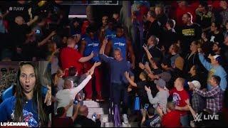 WWE Raw 10/23/17 Smackdown Invades Raw