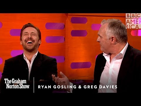 Watch Ryan Gosling Lose It Over Greg Davies Drunk Tale The Graham Norton Show