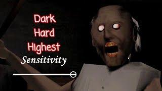 Granny Dark And Hard With Highest Sensitivity