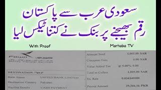 No Value Added Tax on Amount Transfer to Pakistan From Saudi Arabia Urdu/Hindi