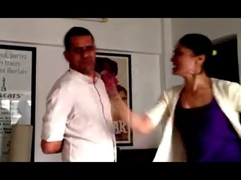 Xxx Mp4 Old Viral Video Subhash Kapoor Slapped By Geetika Tyagi In Front Of His Wife Me Too 3gp Sex