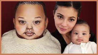 TRANSFORMING INTO KYLIE JENNER'S BABY! | Alexis Stone